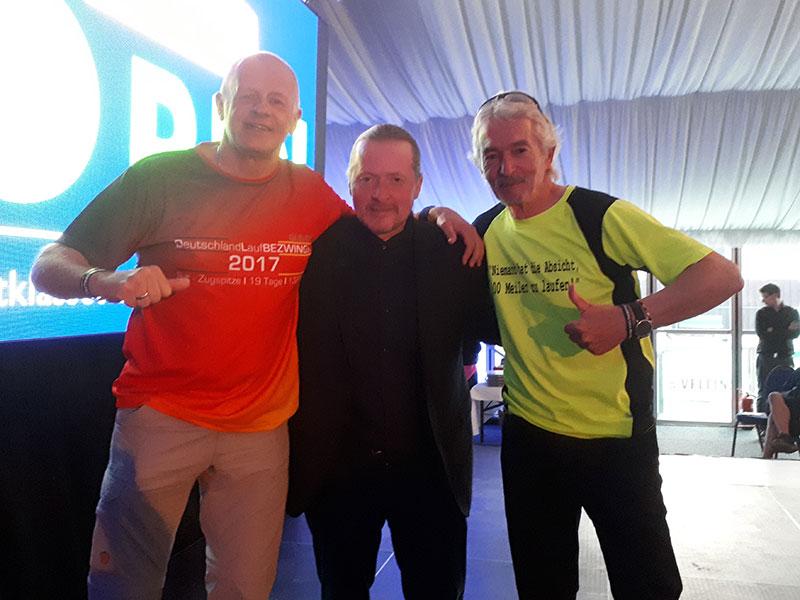 Schirmherrschaft Joey Kelly, Musiker und Extremsportler